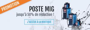 Bannière des promotions du site boutique