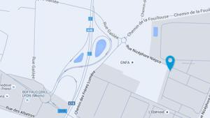 Plan du site de CLS - Saint-Priest