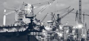 Photo d'un chantier naval